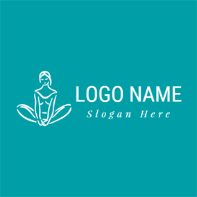 Mind and Body Revitalized Yoga logo design