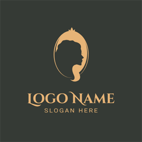 Mirror and Beautiful Hair Mode logo design