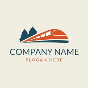Free Train Logo Designs Designevo Logo Maker