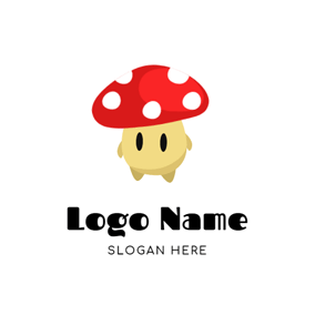 Mushroom Head and Anime logo design