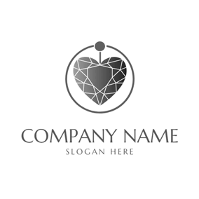 Necklace and Pendant Jewelry logo design