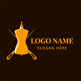 Needle Model Handmade logo design