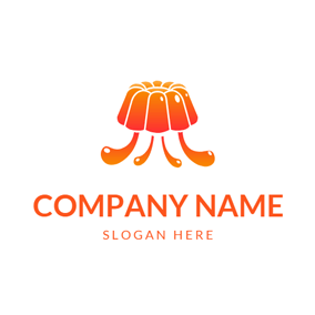 Orange Berry and Jelly logo design