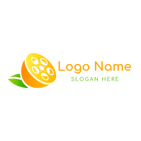 Orange Slice and Photography logo design