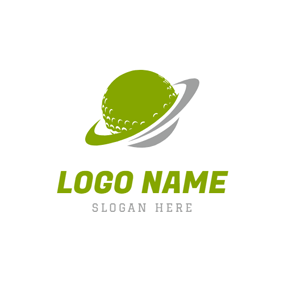 Orbiting and Golf Ball logo design
