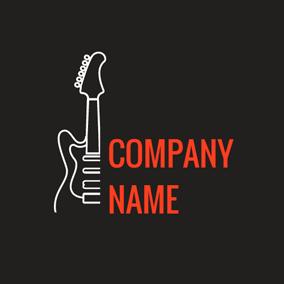 Free Guitar Logo Designs | DesignEvo Logo Maker
