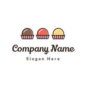 Design De Logotipos De Bolo Gratis Criador De Logotipos Designevo