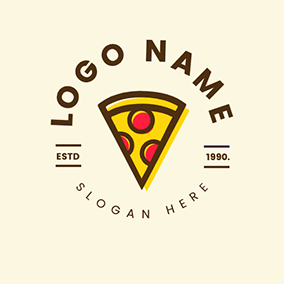Pizza Menu Logo logo design