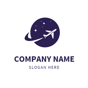 free airplane logo designs designevo logo maker