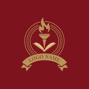 45 free school logo designs designevo logo maker