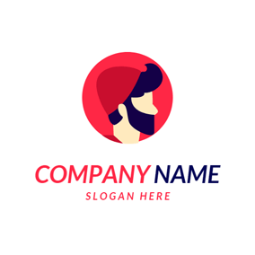 Red Hat and Hipster logo design