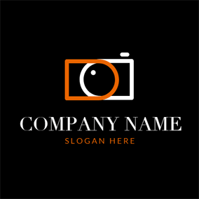 Regular Rectangle and Camera logo design