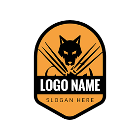 Shield Hero Weapon Wolverine logo design
