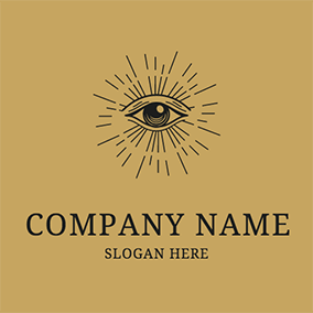 Shiny Eye Alchemy Logo logo design