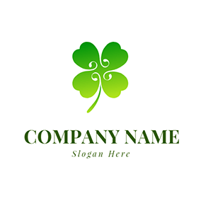 Simple and Impressive Clover logo design