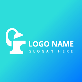 Simple Bathroom Logo logo design