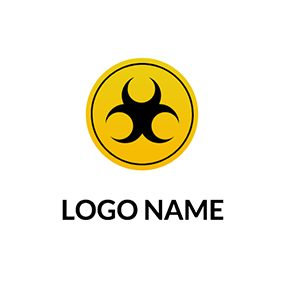 Simple Circle Gas Logo logo design