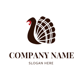 Simple Decoration and Abstract Turkey logo design