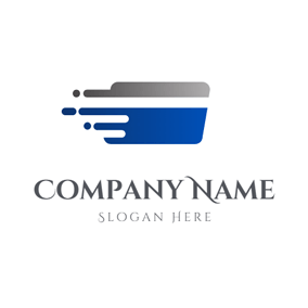 Simple Fly Credit Card logo design