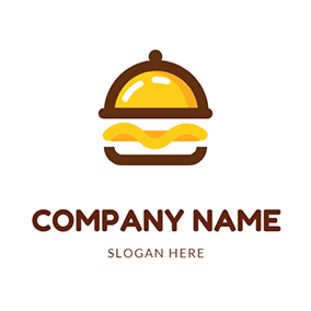 Simple Gourmet Icon logo design