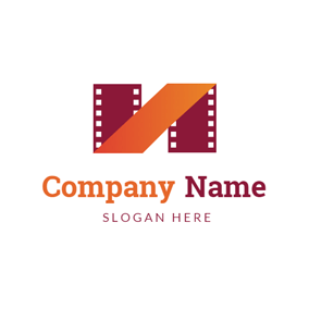 Simple Photographic Film logo design