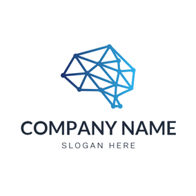 Simple Structure and Blockchain logo design