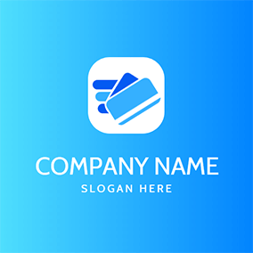 Simple Wing Card and Payment logo design