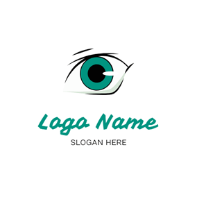 Sketch Eye and Anime logo design