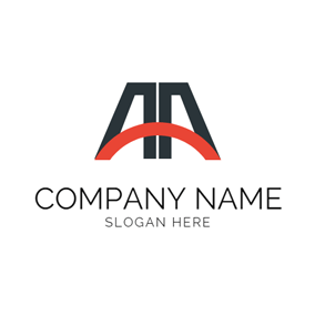 Small Arc and Double Abstract A logo design