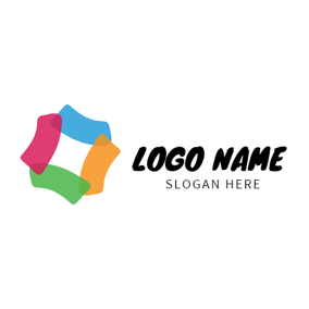 Small Colorful Pattern logo design