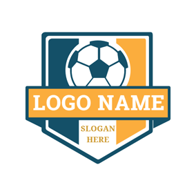 Soccer Ball Badge logo design