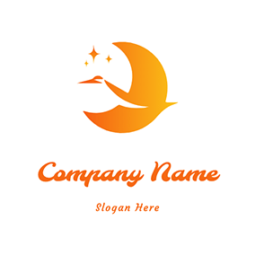 Speaking Moon logo design