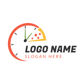 Special Colorful Clock logo design