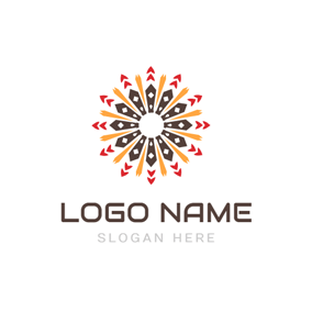 Special Flower Tribal Significant logo design