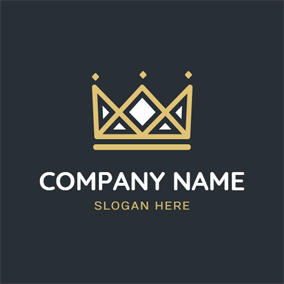 Special Shape Crown logo design