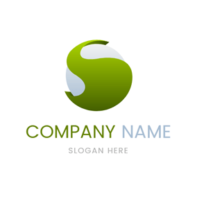 Sphere and Letter S logo design