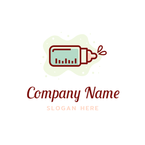 Splash and Feeding Bottle logo design