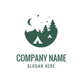 Starry Forest Park logo design
