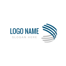 Stereo and Perspective Sphere logo design