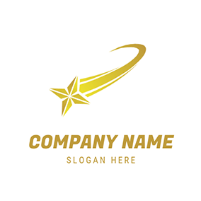 Stereoscopic Comet and Tail logo design