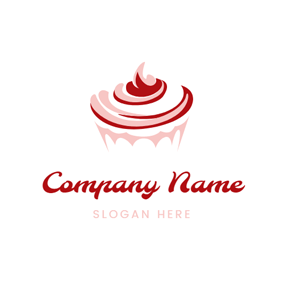 Sweet Cream Cup Cake logo design