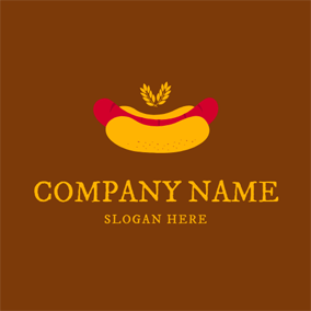 Tasty Hot Dog logo design