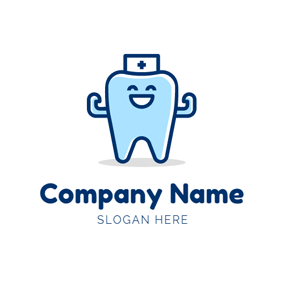 Tooth and Dental Clinic logo design
