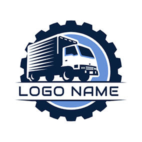 Trailer and Gear logo design