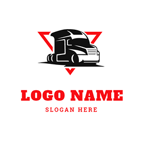 Trailer Triangle logo design