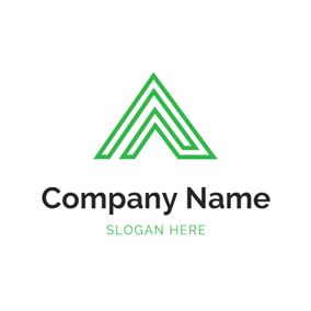 Triangle and Delta Symbol logo design