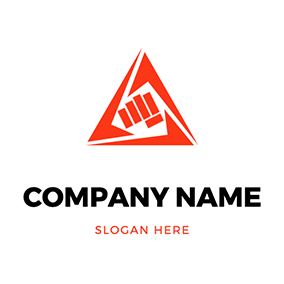 Triangle Punch Logo logo design