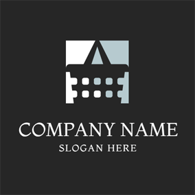 Unique Single Shoulder Bag logo design