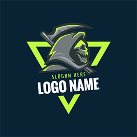 Villain and Triangle logo design