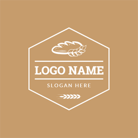 Wheat and Sweet Bread logo design